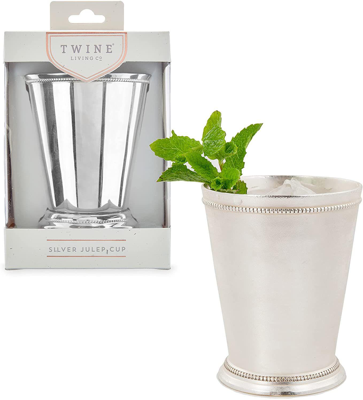 Twine Mint Julep Cup Silver