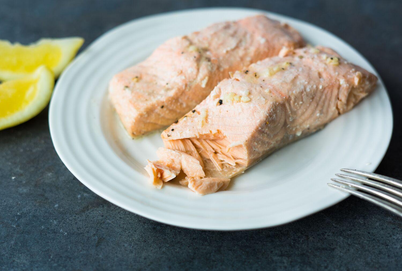 Garlic Baked Salmon