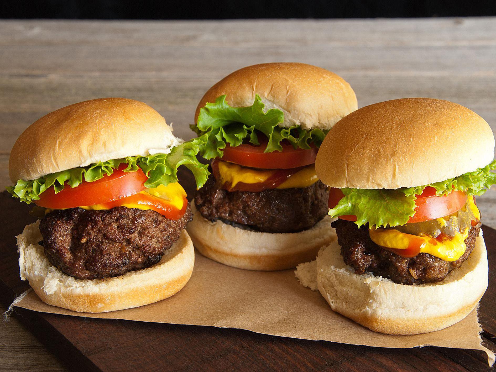 All-American Sliders (Mini Burgers) Recipe