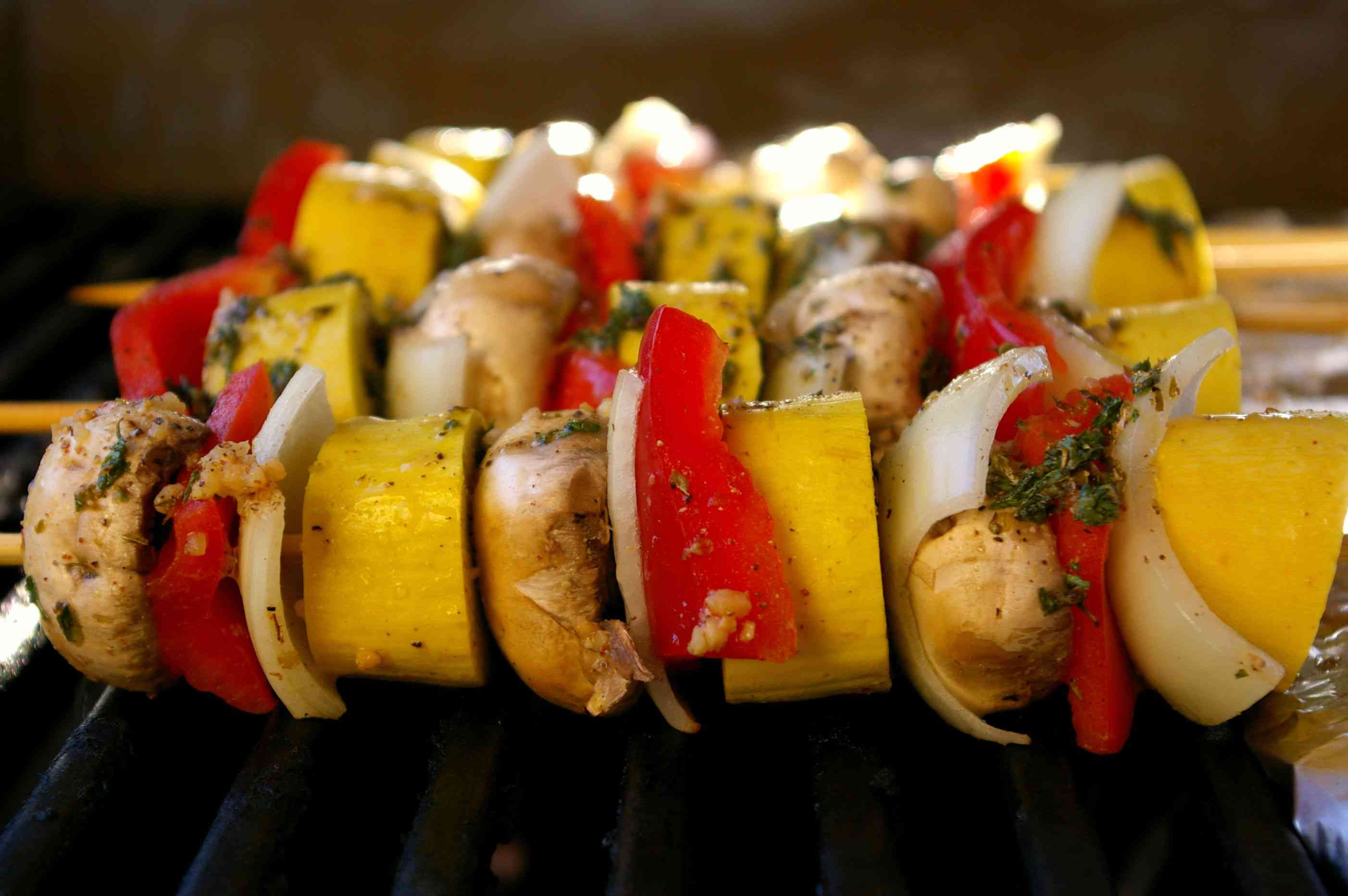 Vegetable Kebabs