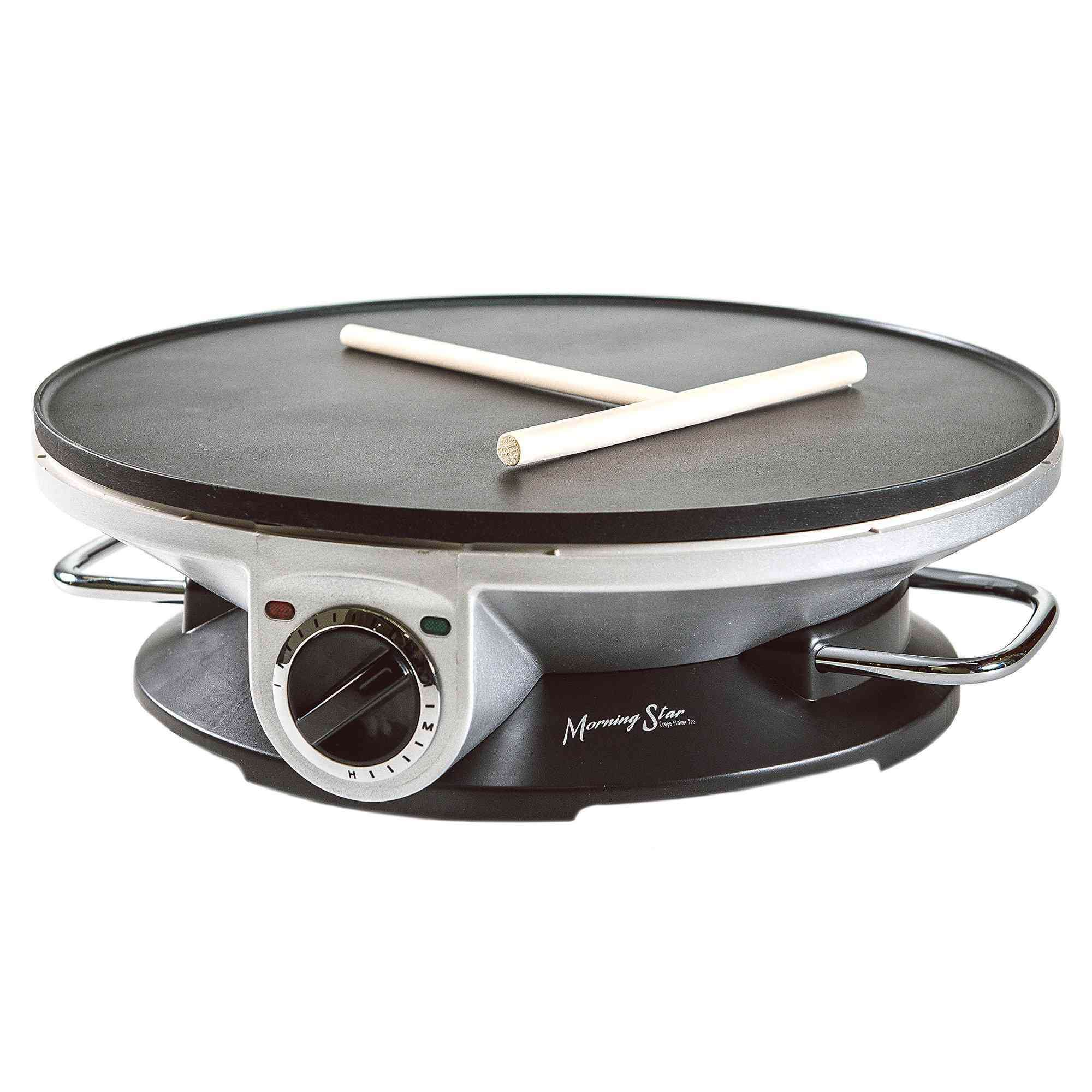 Morning Star Crepe Maker Pro 13 Inch Crepe Maker & Electric Griddle