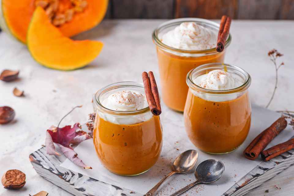 Vegan pumpkin pudding recipe