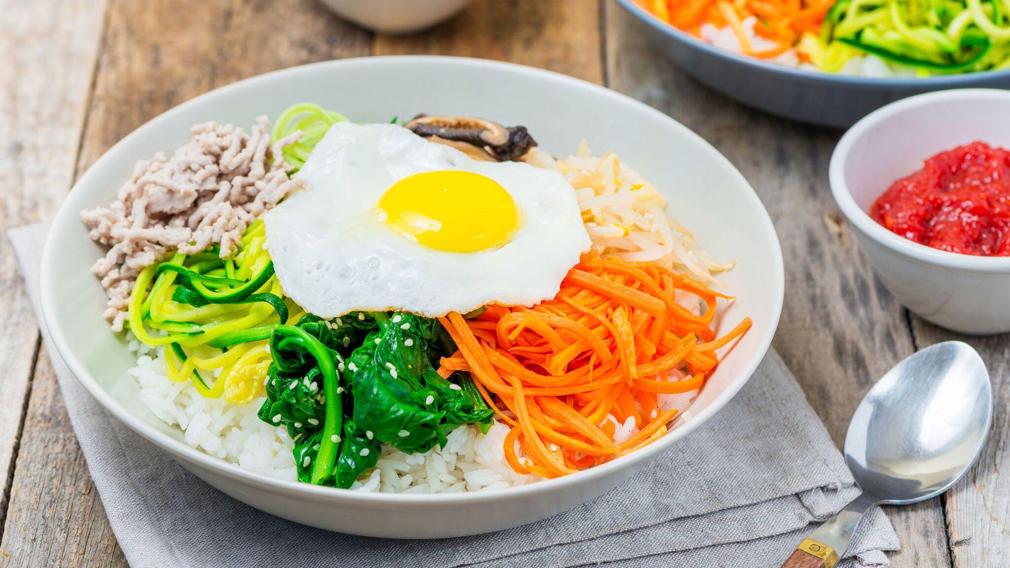 Classic Korean Bibimbap Recipe