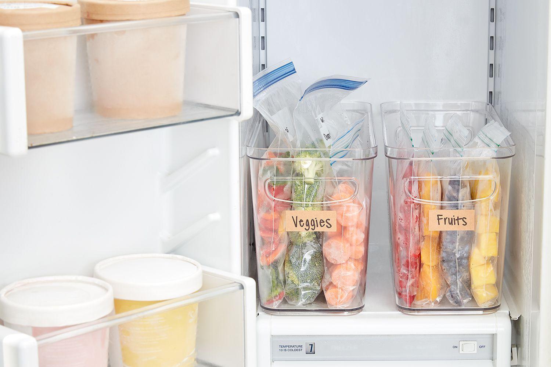 Freeze produce