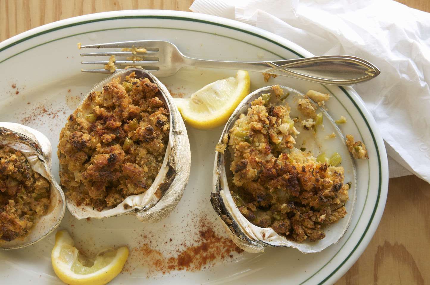 Stuffed Clams with Bacon