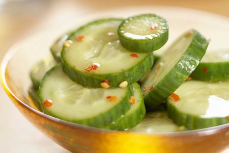 Spicy Korean Cucumber Pickles Recipe