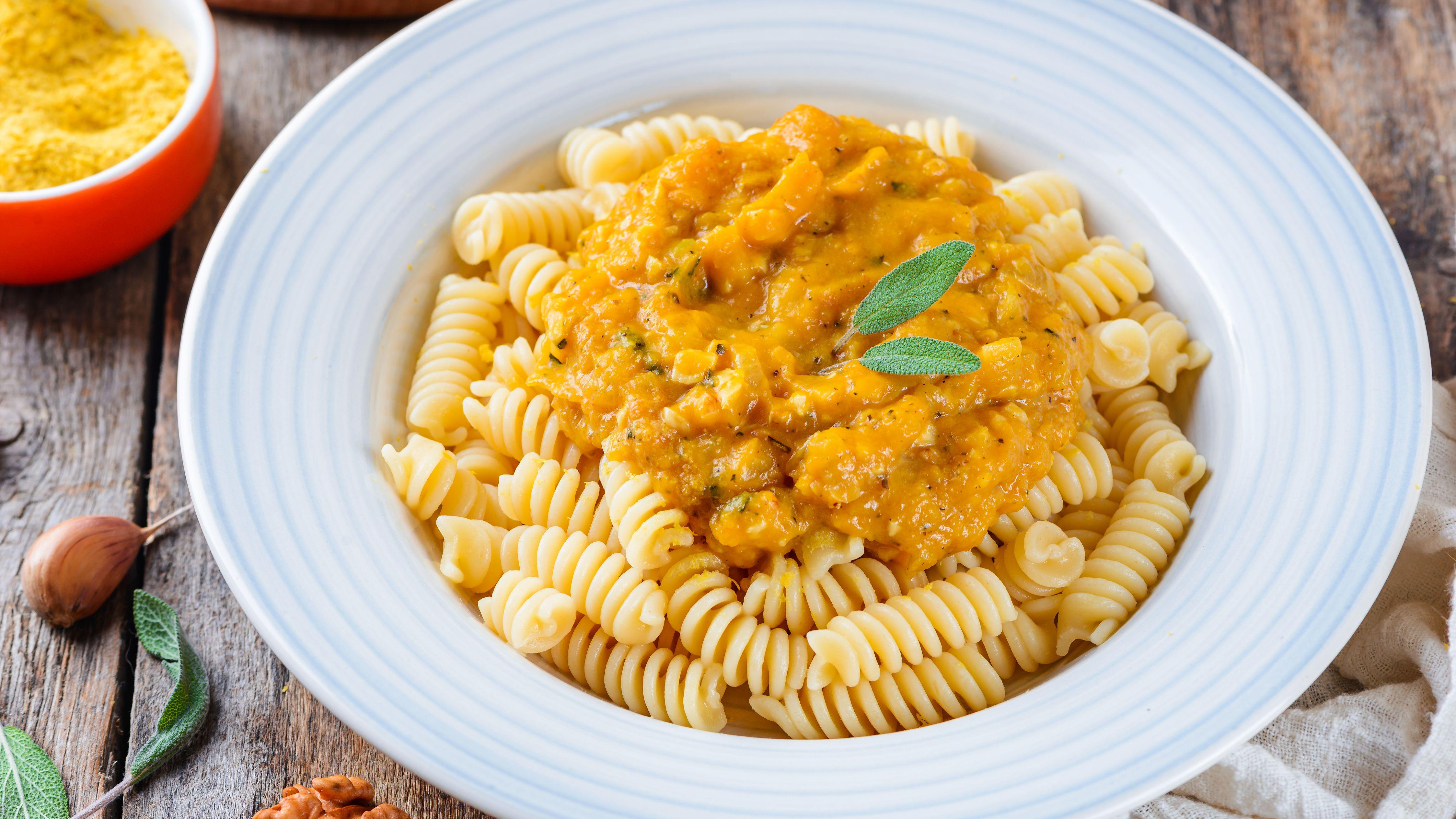 Vegan Pumpkin Pasta Sauce