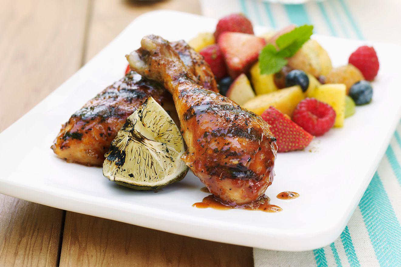 Bourbon barbecue chicken