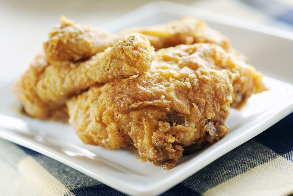 Crispy Buttermilk Fried Chicken
