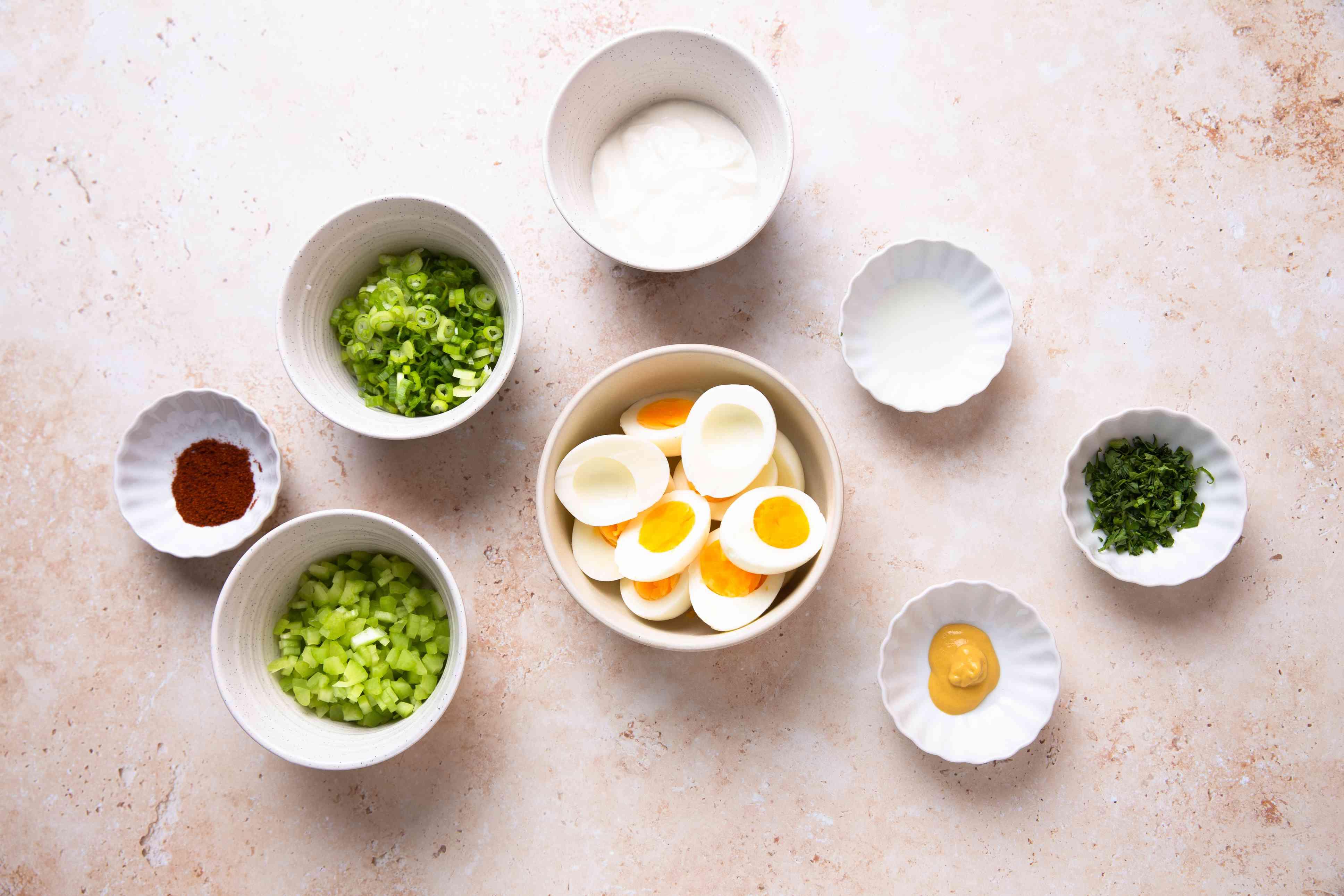 Creamy Egg Salad (Without Mayo) ingredients
