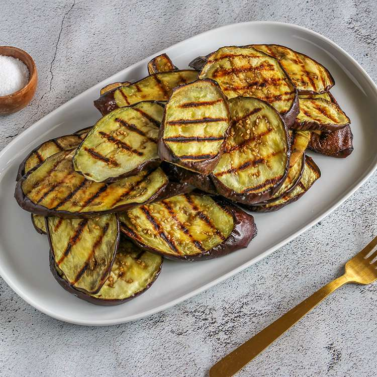 Perfectly Grilled Eggplant Tester Image