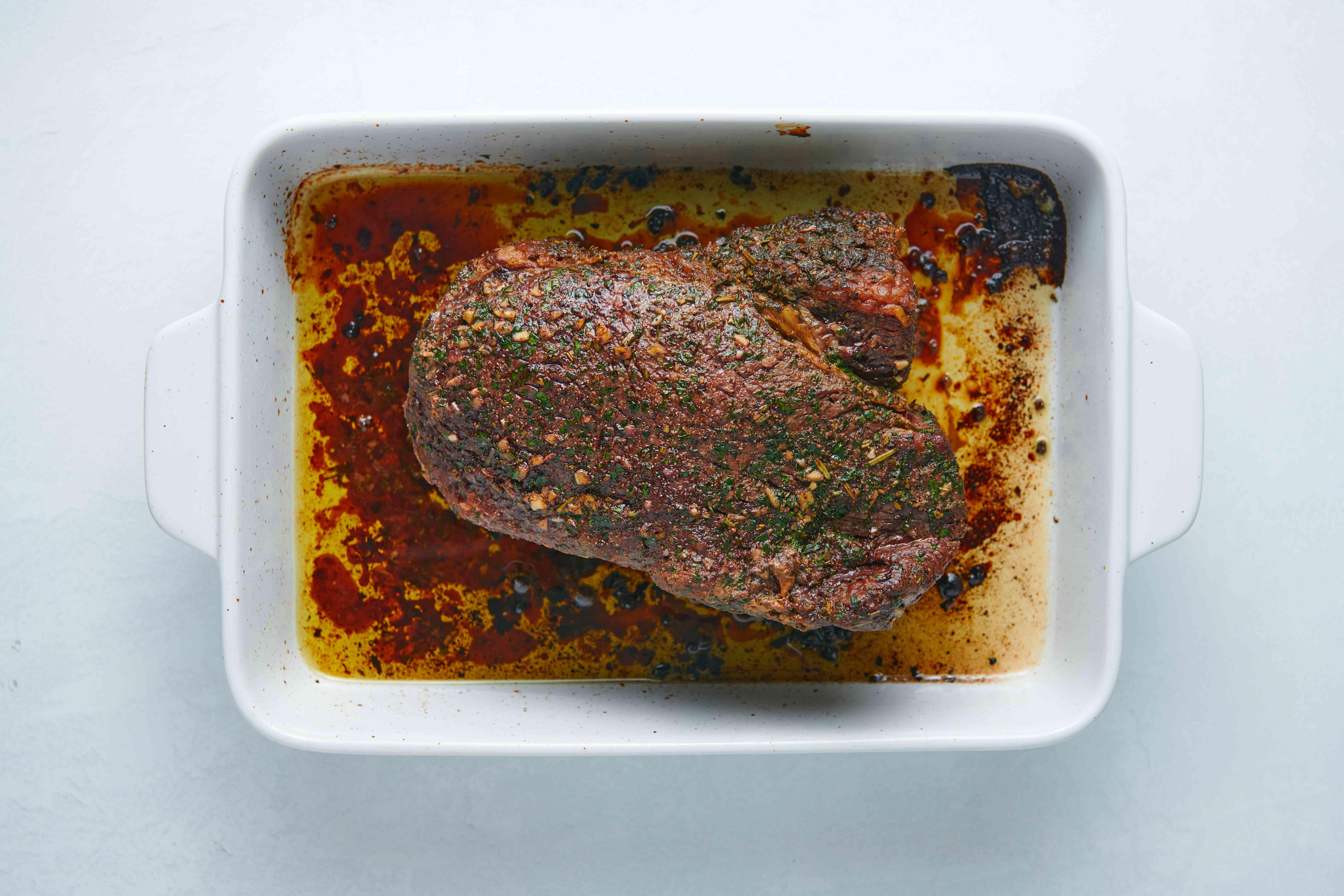 roast in a baking pan
