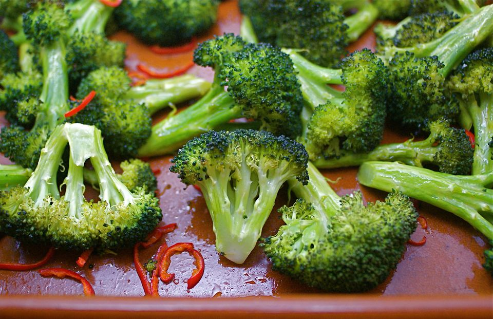 Roasted Broccoli With Chiles and Lemon