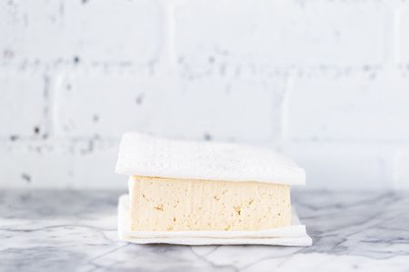 Place The Tofu On A Layer Of Paper Towels