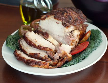 Honey Glazed Pork Loin Roast