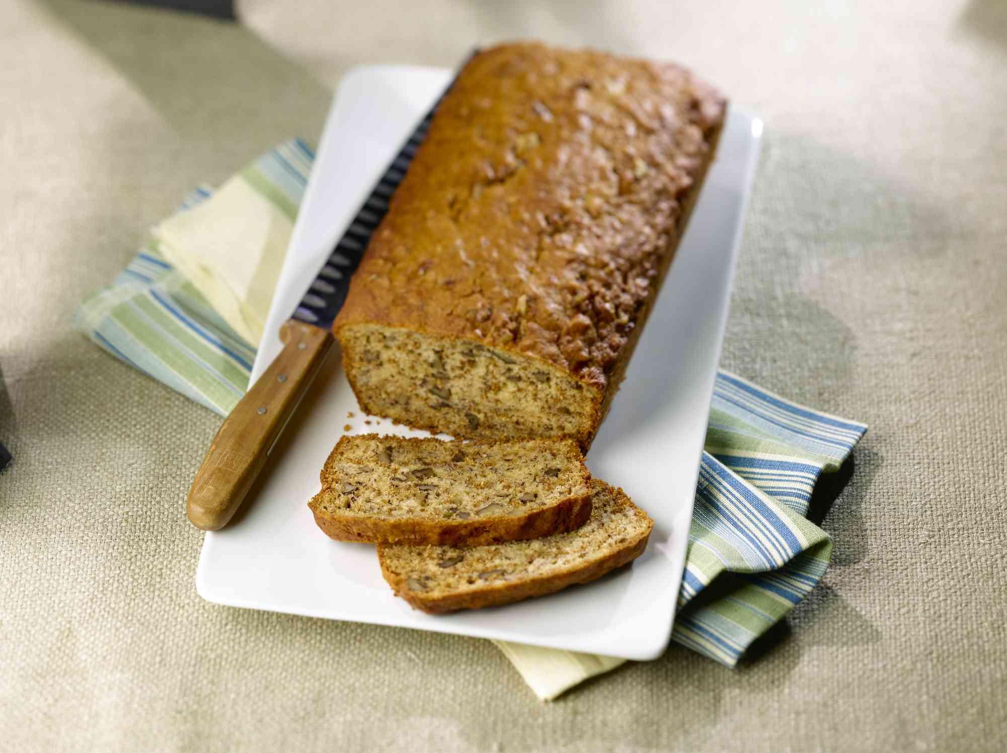 Gluten free banana bread