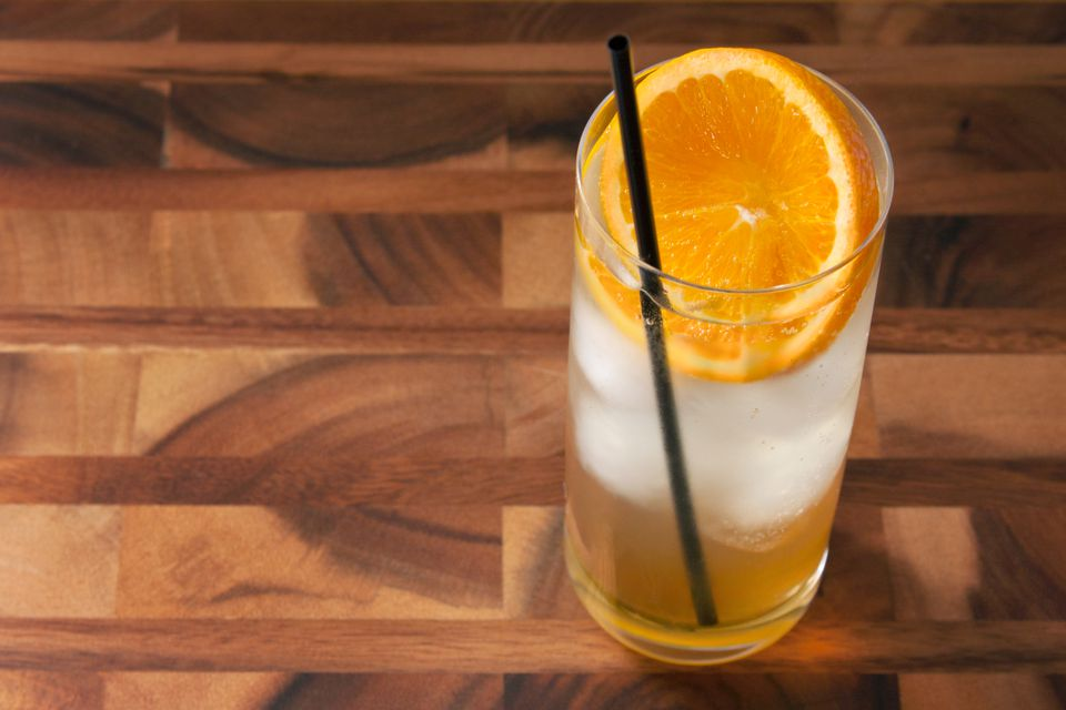 John Collins Bourbon Whisky Highball