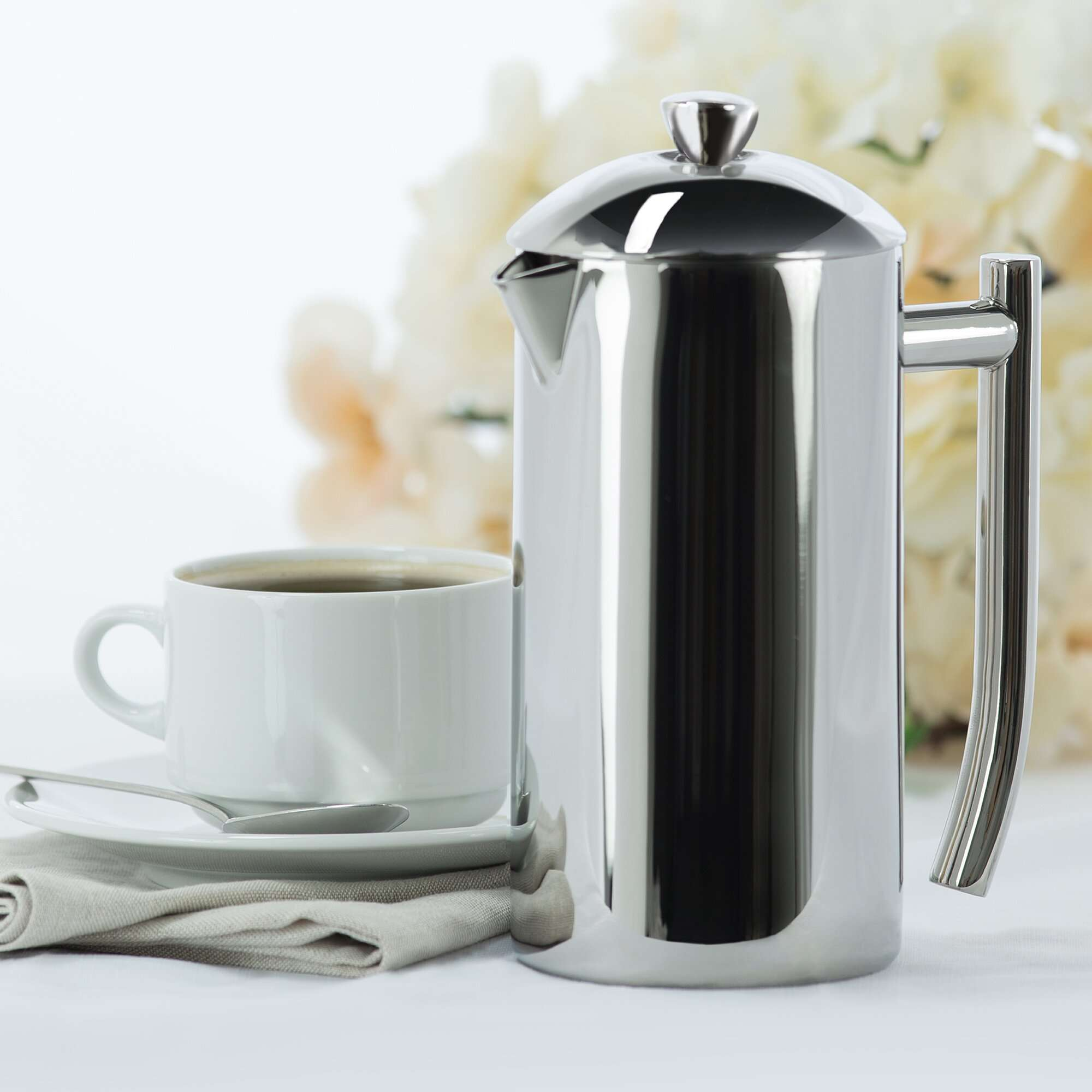 Frieling Double Wall Stainless Steel French Press