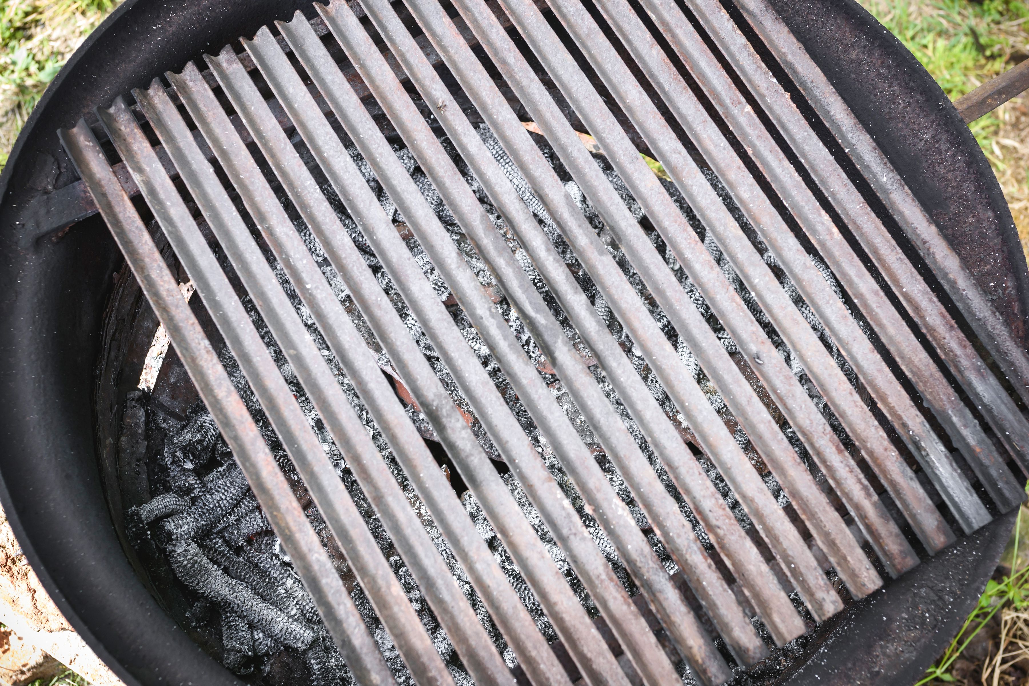Preheat an outdoor grill