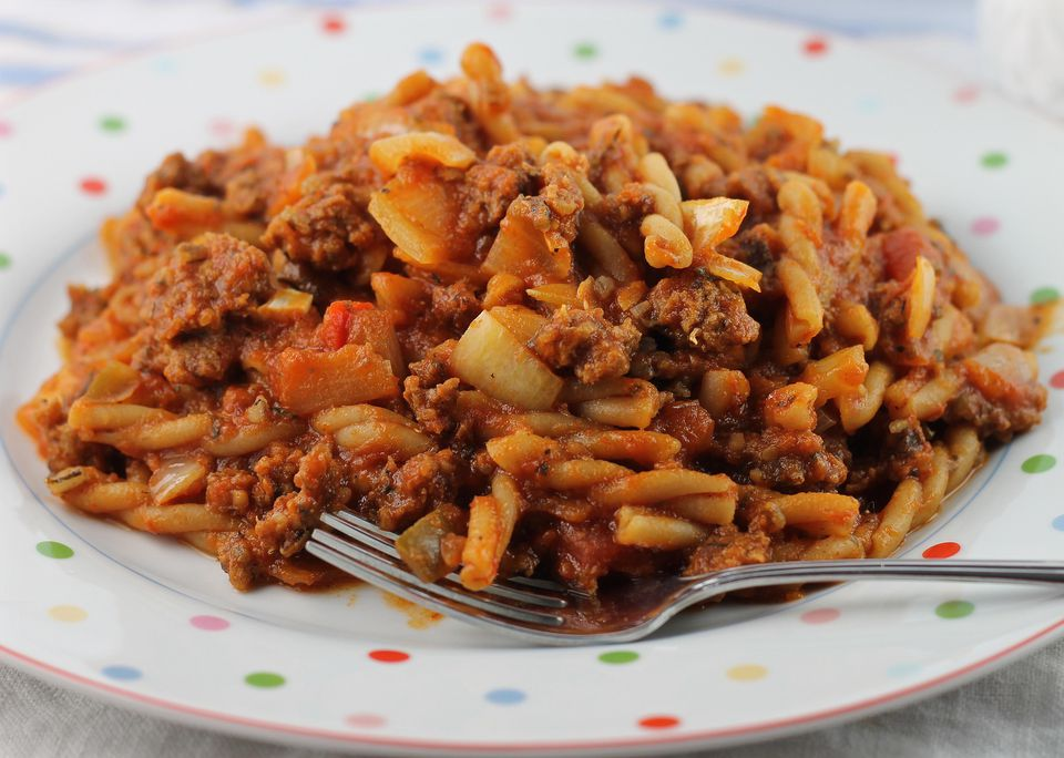 Old Fashioned Skillet Goulash