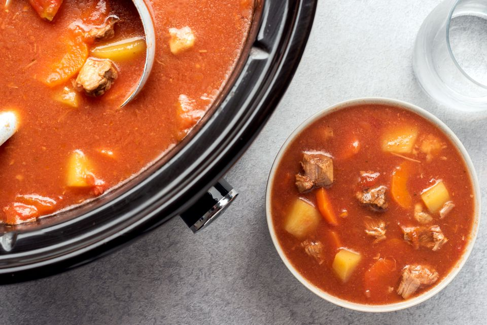 Slow Cooker Low-Calorie Beef Stew