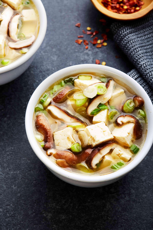 Serve miso soup