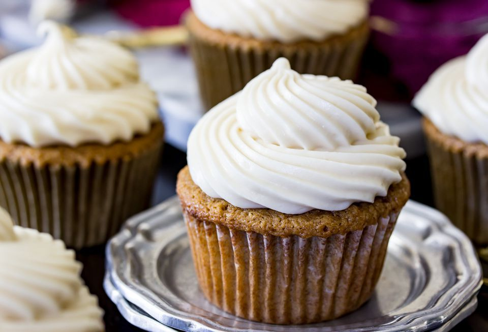 Brown Sugar Maple Cupcakes