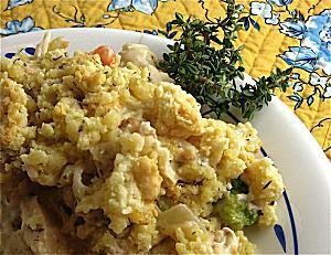 Creamy Chicken and Veggies Casserole