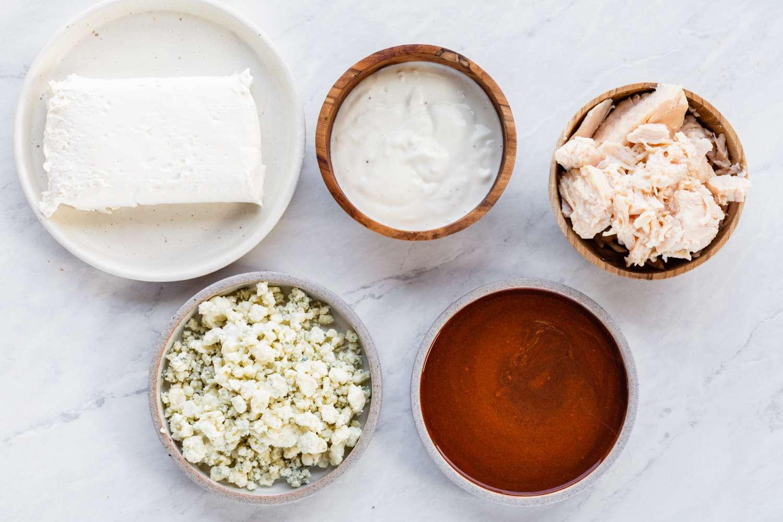 Buffalo Chicken Dip Recipe ingredients