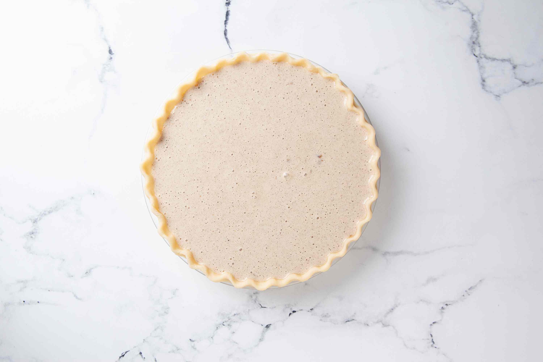 Bake the vinegar pie