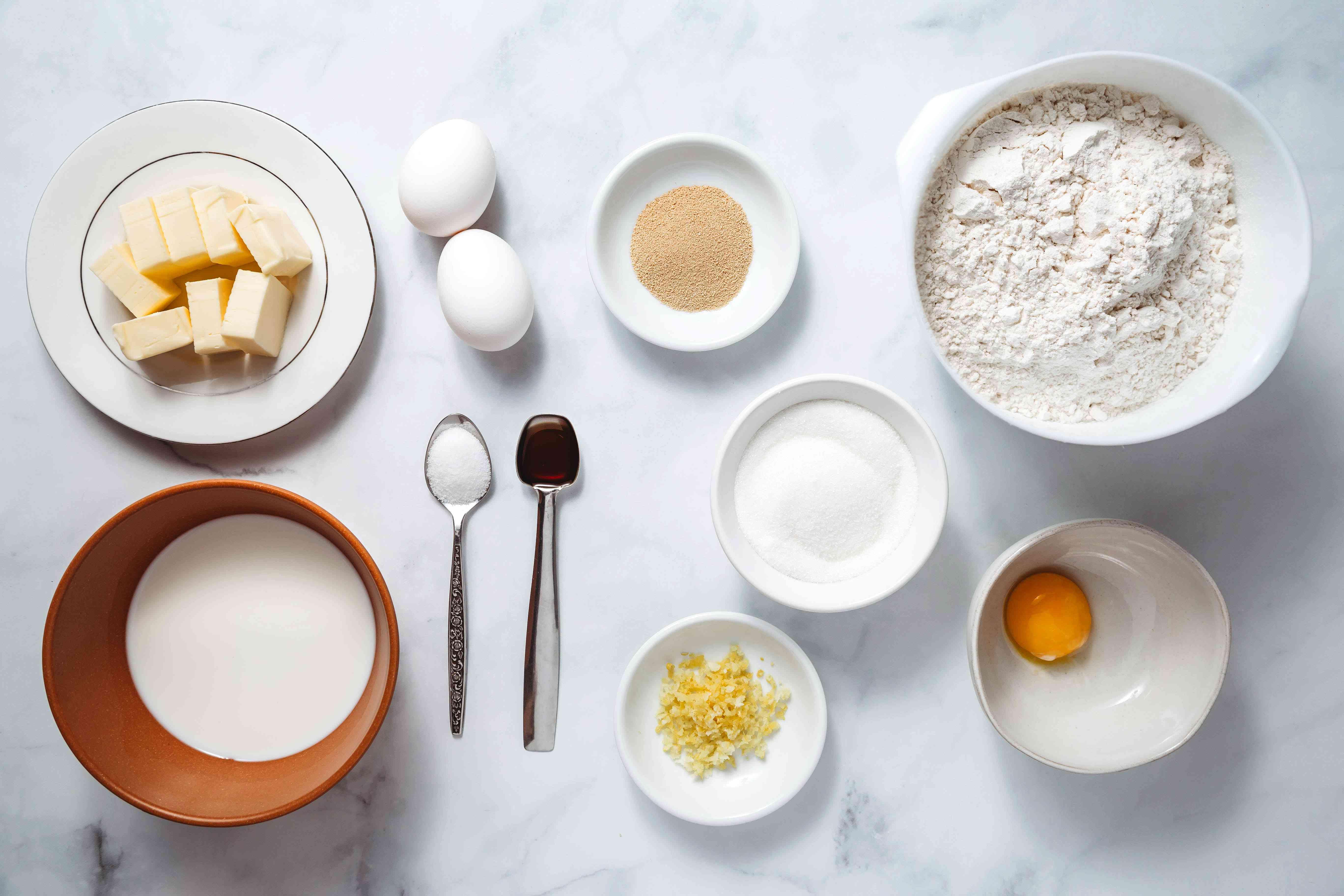 Easter cake ingredients