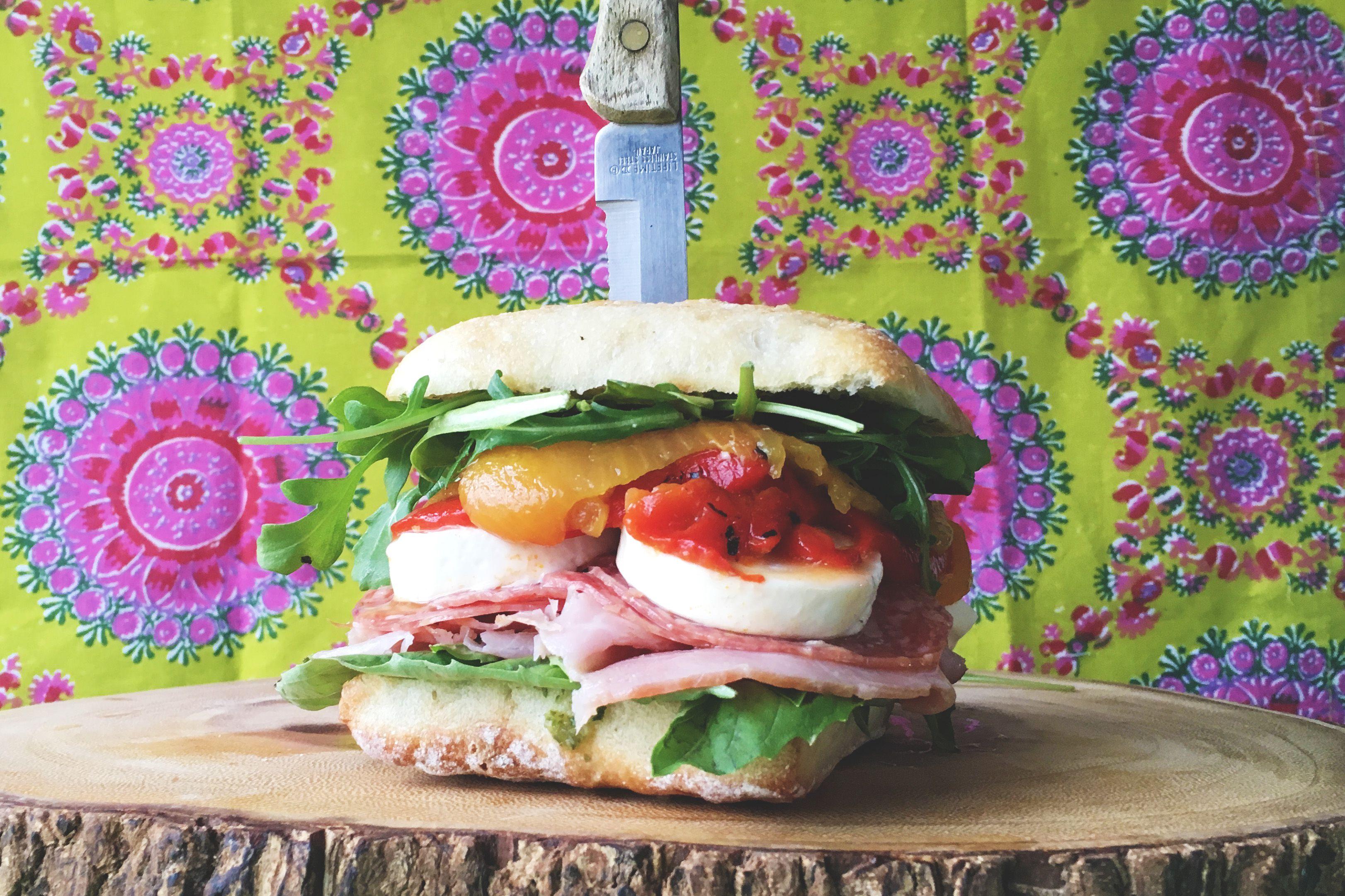 Italian Ciabatta Sandwich Recipe