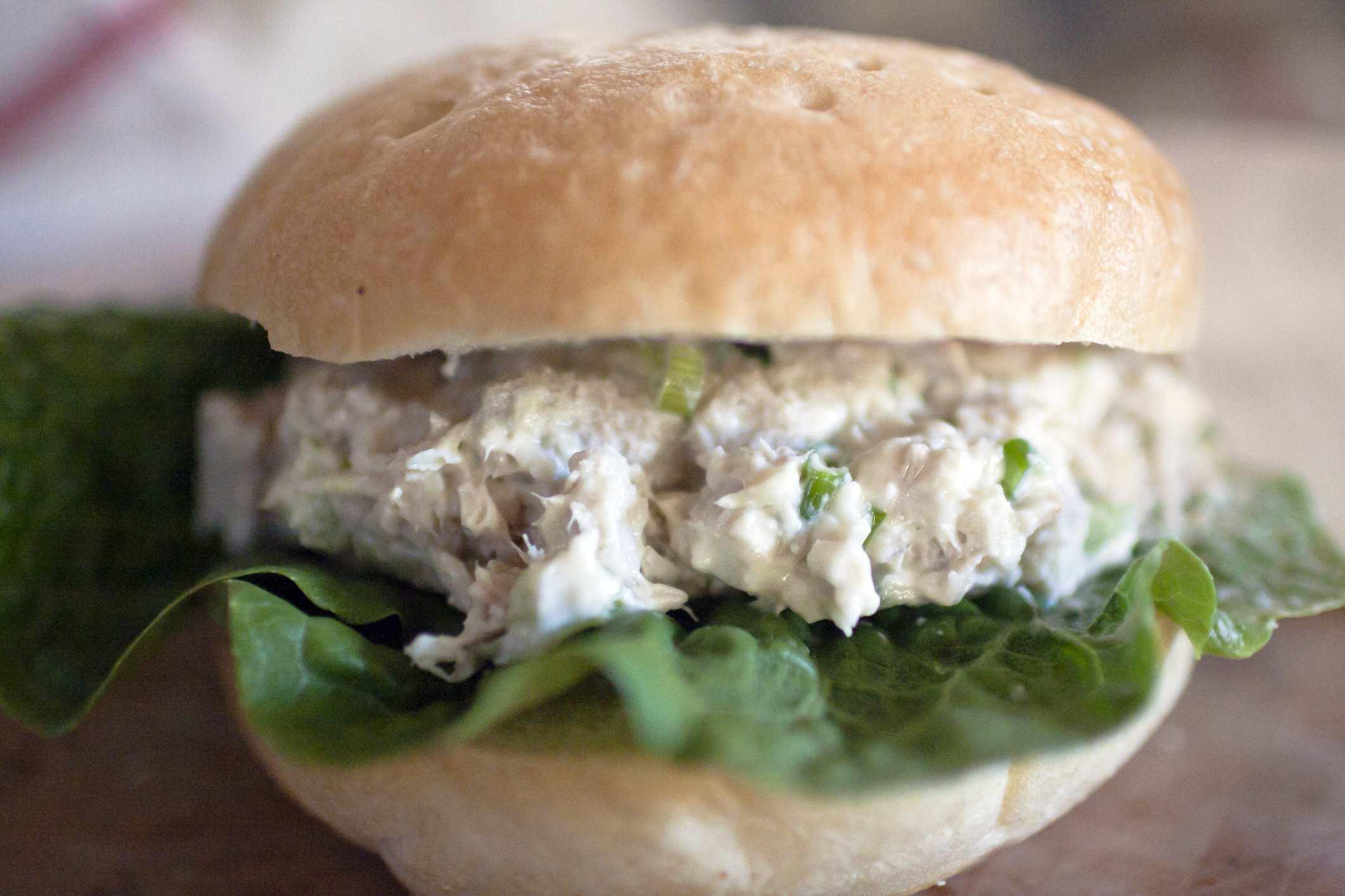 parmesan tuna sandwich