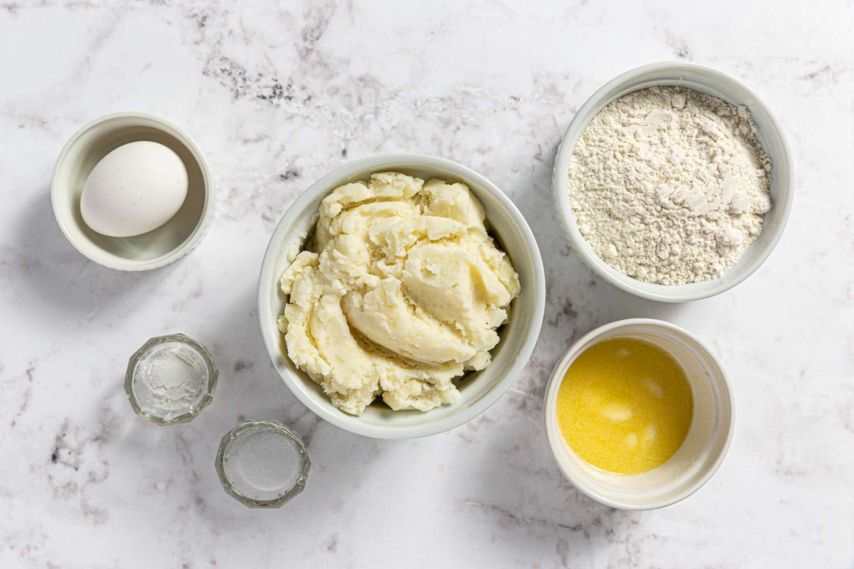 Ingredients to make Irish fadge