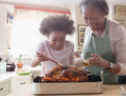 What is basting?