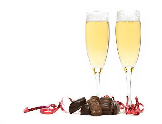 Champagne and Chocolate