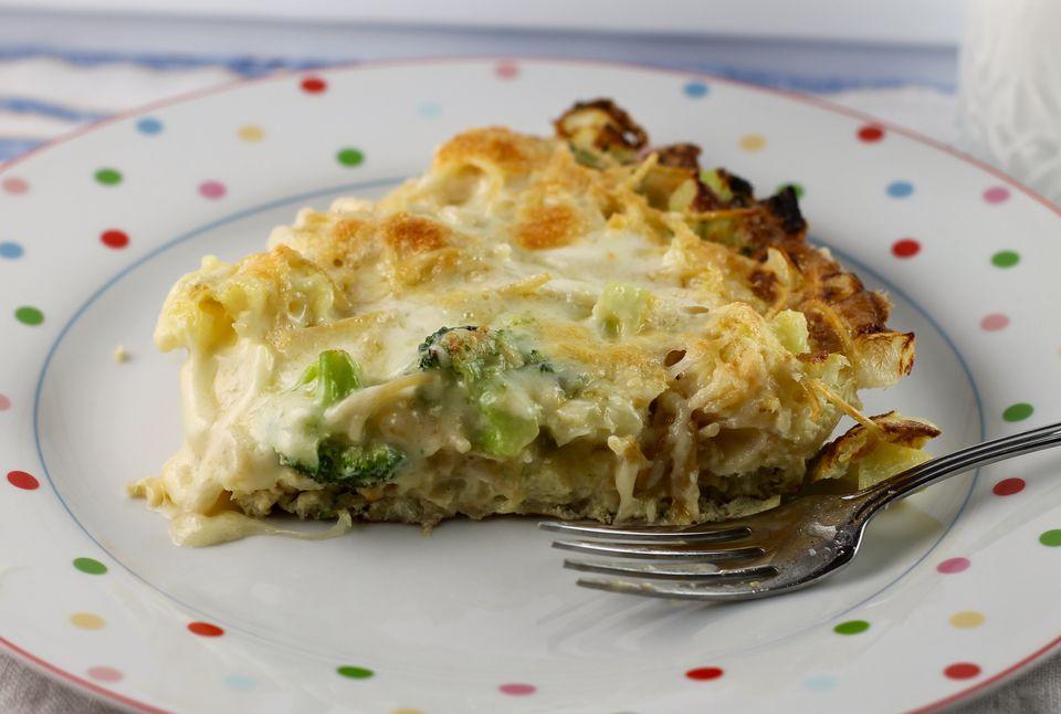 Broccoli and Cauliflower Frittata