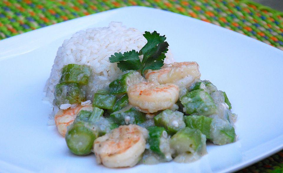 Brazilian Shrimp and Okra Gumbo - Caruru de Camarão