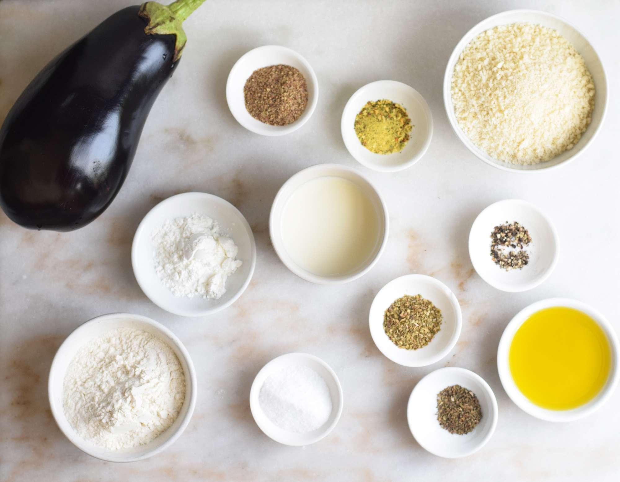 vegan eggplant parmesan ingredients