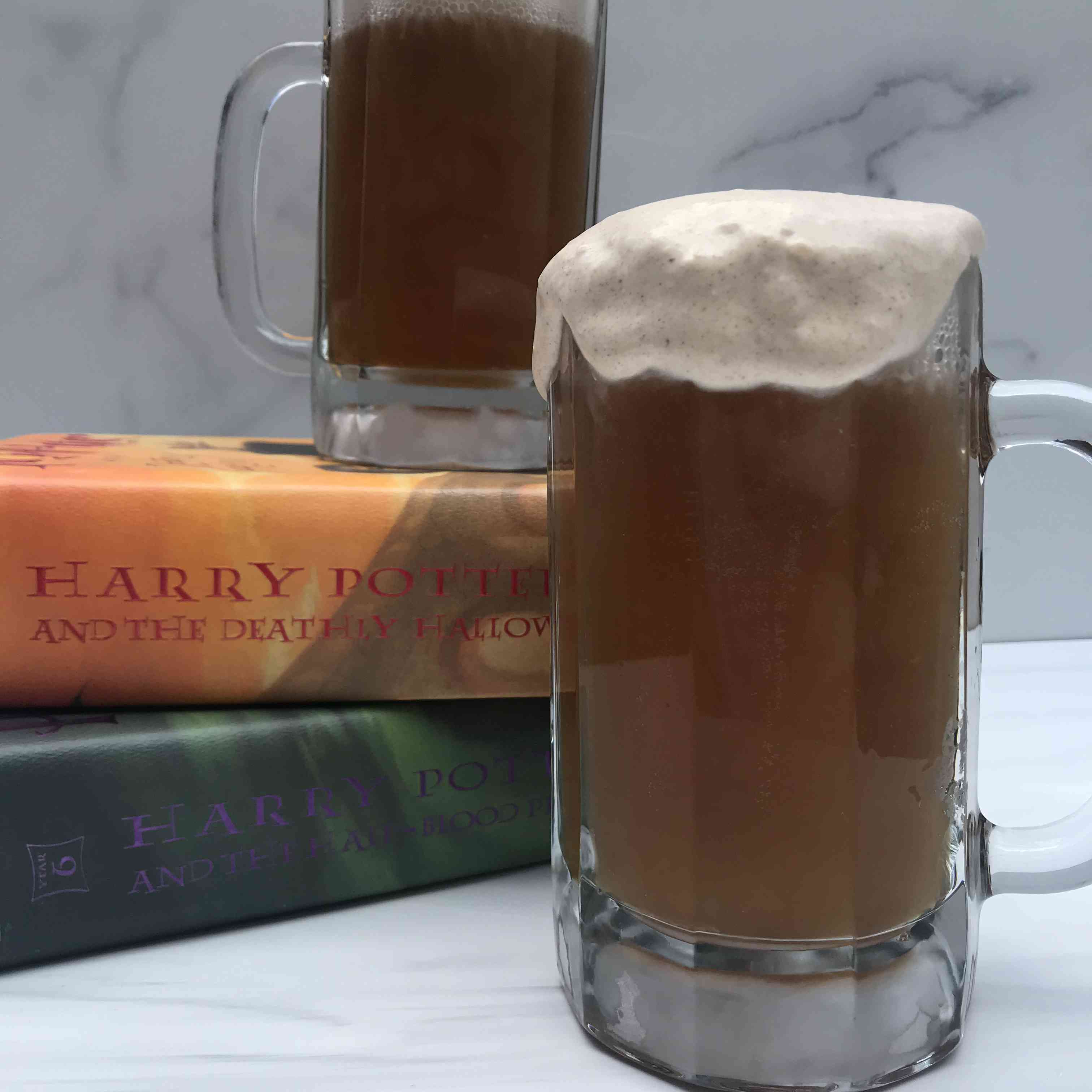 A Better Butterbeer Recipe With or Without Alcohol Tester Image