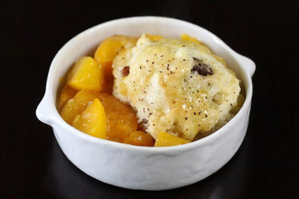 Southern Peach Dumplings