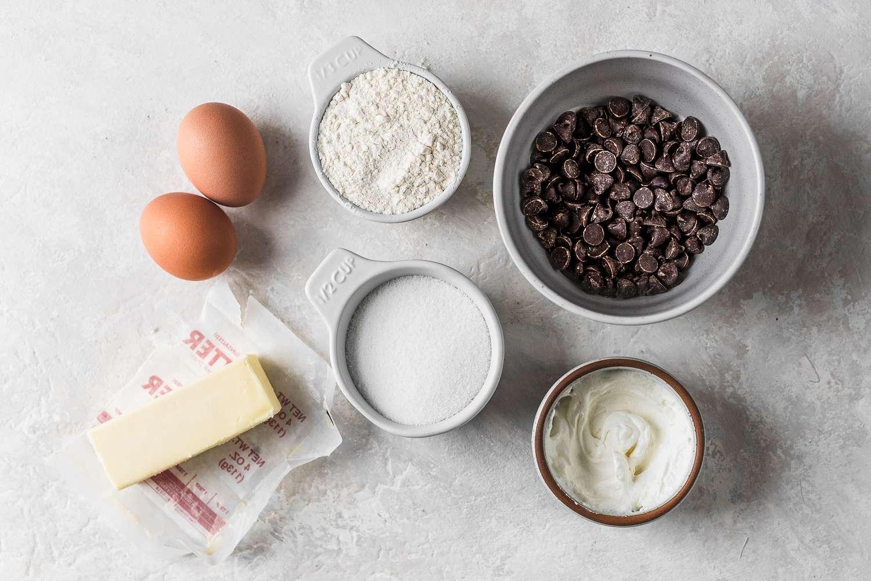 Dark Chocolate Molten Lava Cake ingredients