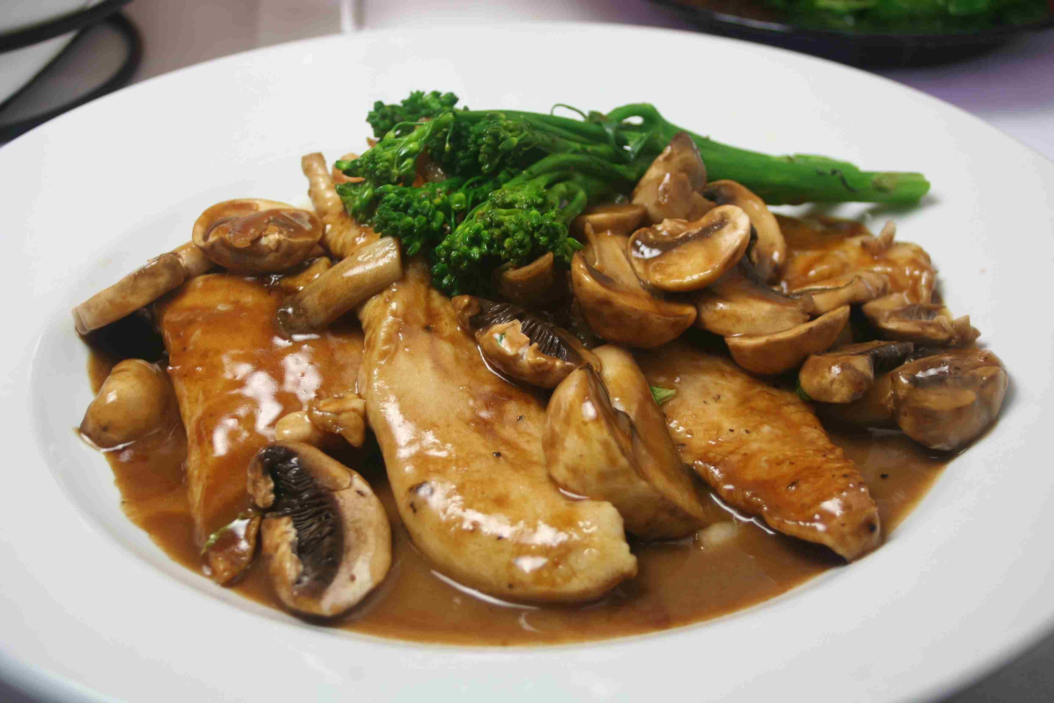 Chicken Marsala, Olive Garden Style