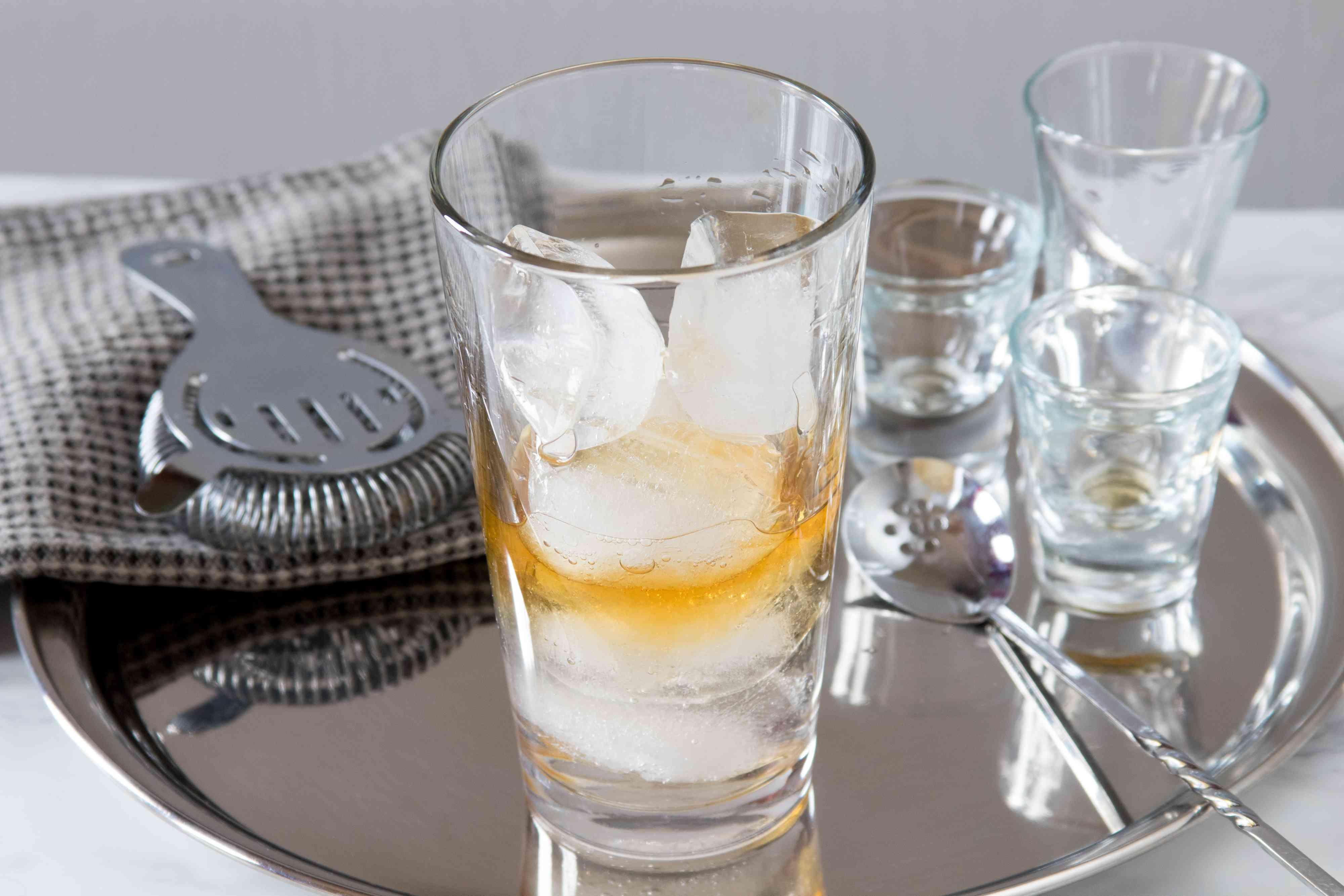 Mixing a Perfect Martini