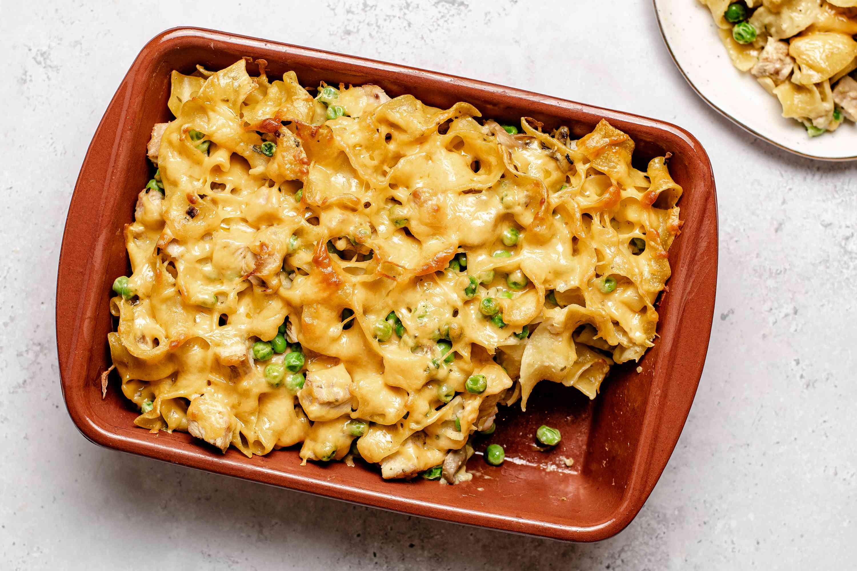 Creamy Turkey Noodle Casserole