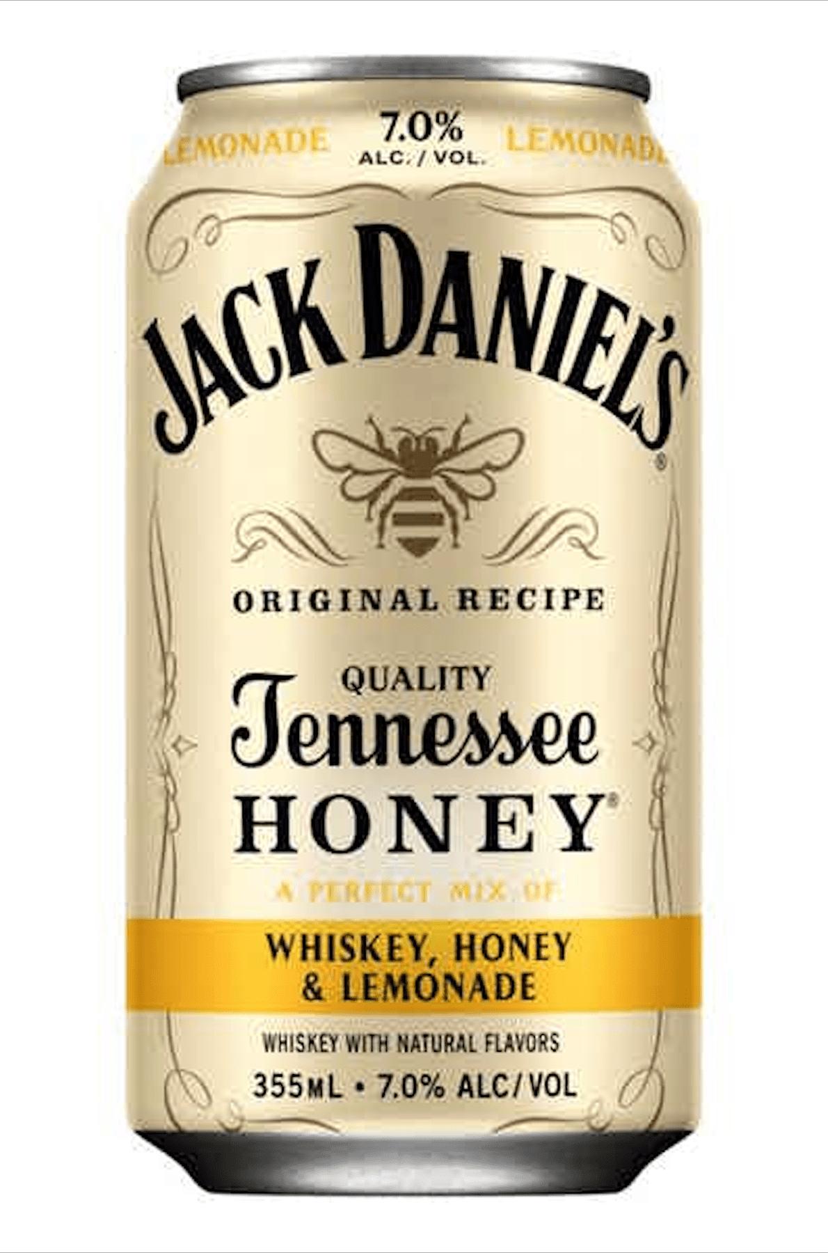 Jack Daniel's Whiskey, Honey, and Lemonade