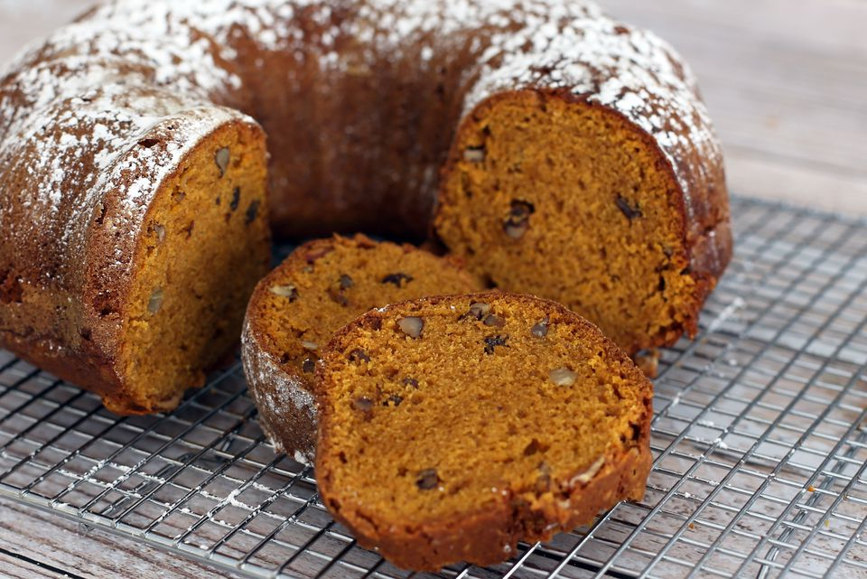 Spiced Pumpkin Bread With (Or Without) Walnuts