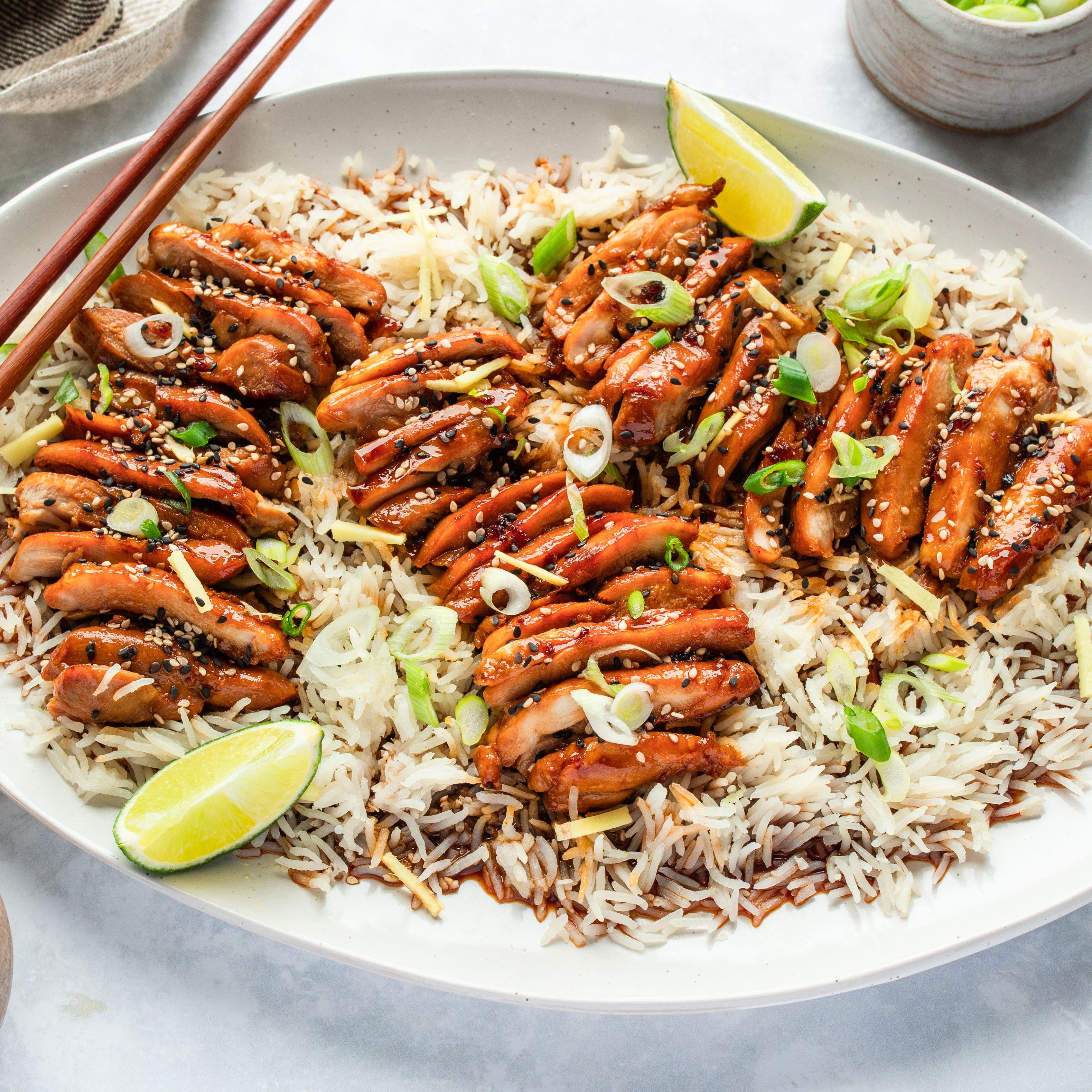Japanese Restaurant Style Teriyaki Chicken