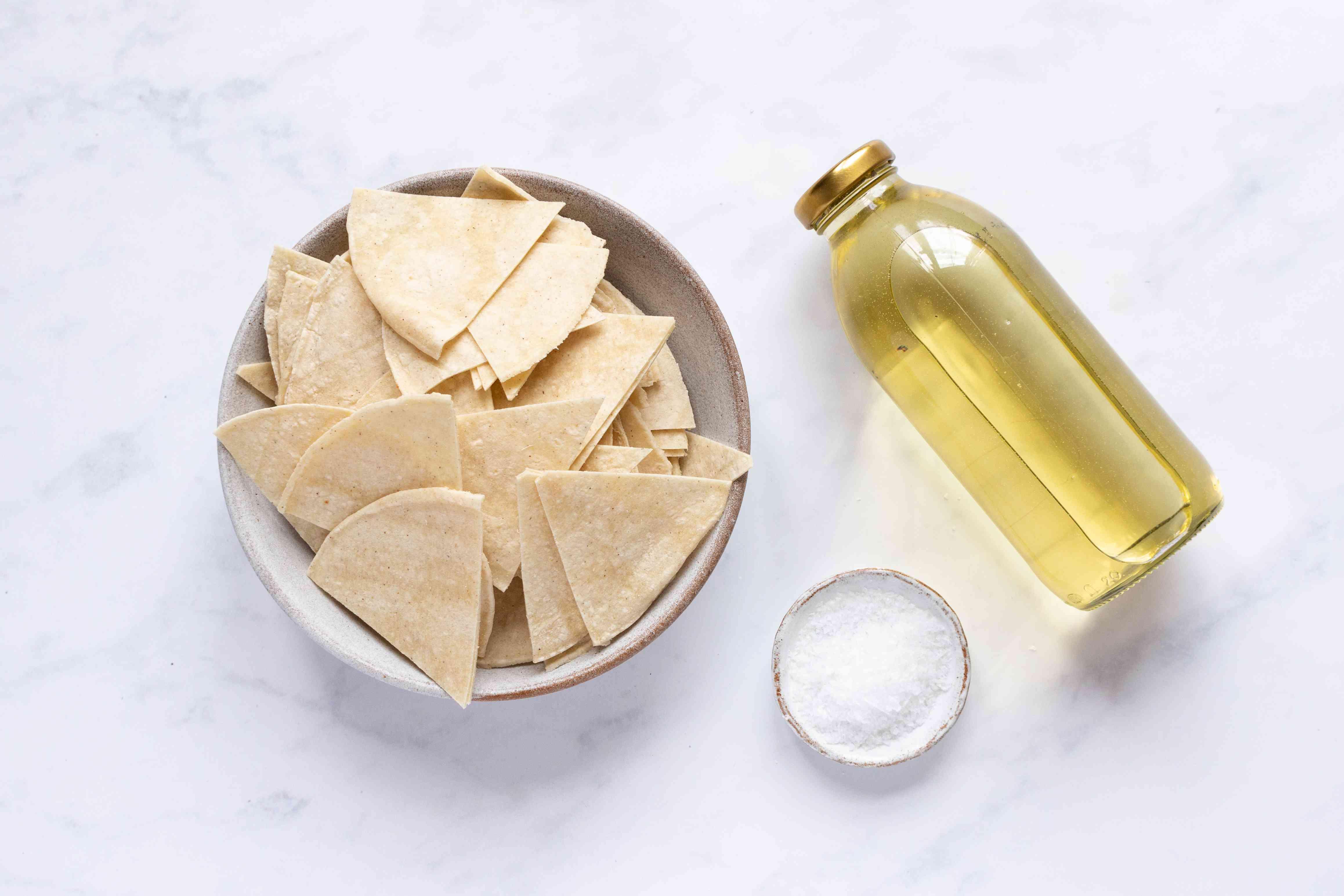 Pan-Frying Totopos ingredients