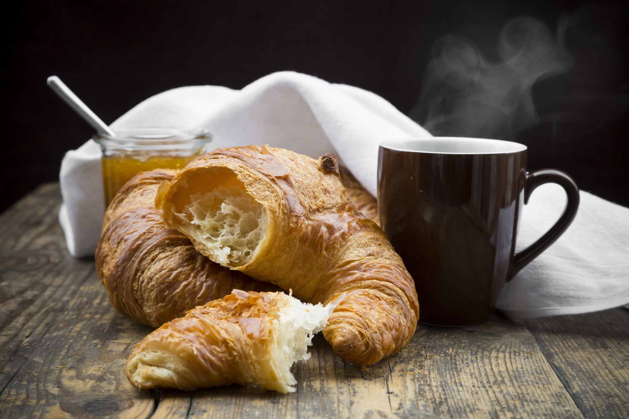 classic french butter croissant rolls recipe